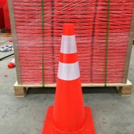 道路施工防撞击反光锥形路锥 路锥生产厂家反光路锥价格