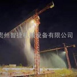 工地塔吊喷淋系统|工地围挡喷淋厂家
