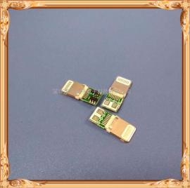 苹果公头带单充电板/iPhone5-6-7-8专用充电公头