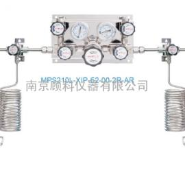 amflo敦阳MR1200系列大中流量半自动切换特气汇流排