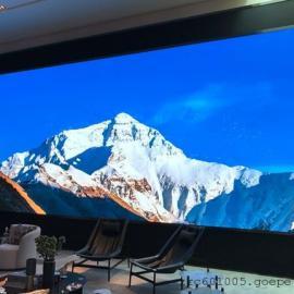 大厅LED大屏P几合适P3全彩显示屏包安装落地价
