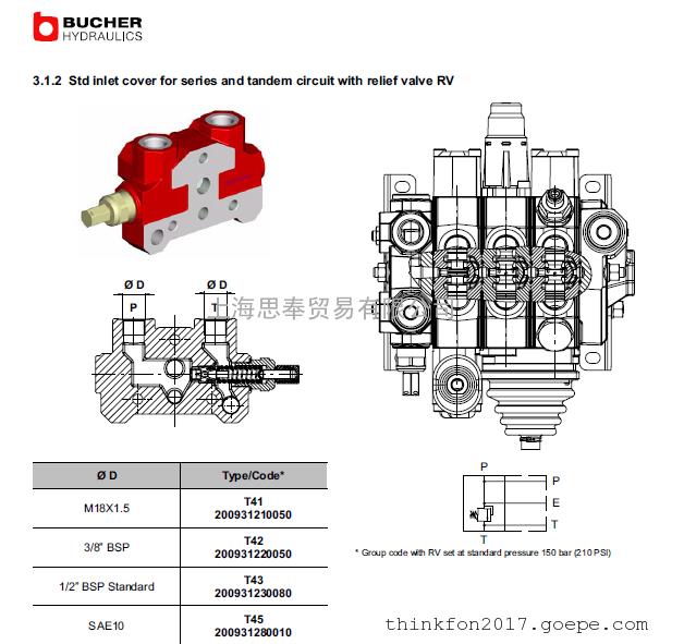 布赫BUCHER 泵阀 布赫全系列产品优势供应 德国原装进口
