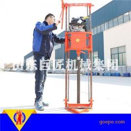 华夏巨匠畅销型QZ-2B汽油机轻便取样钻机 多用途打孔机