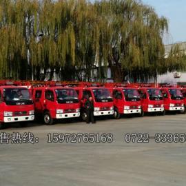 2吨东风水罐消防车价格 2吨东风小型消防车配置图片生产厂家