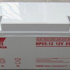 广东汤浅蓄电池NP65-12/12V65AH报价