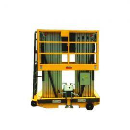 阳泉6米双人操作电动铝合金升降机