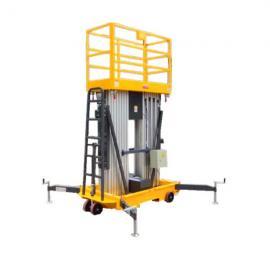 益阳12米双人工作电动升降机,酒店装饰升降梯