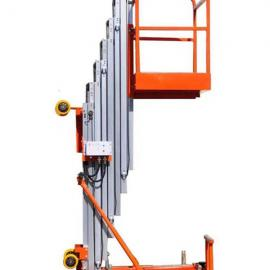 马鞍山单人电动6米高铝合金升降机