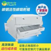 碳钢活性碳吸附箱 活性碳废气处理设备 厂家直销活性碳吸附箱
