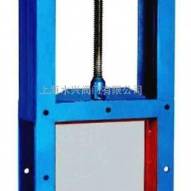 LZMD200x200手动螺旋闸门,手动闸板阀,手动插板阀