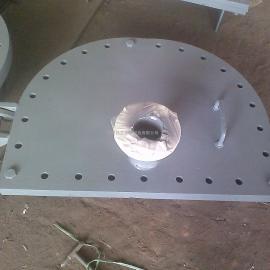 铭意管道销售DN80B带放水管清扫孔罐壁人孔常压人孔不锈钢材质