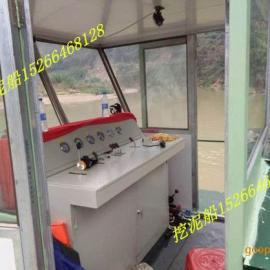 广东清远8寸泵绞吸式抽沙船抽沙120立方