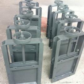 LZMD450×450手动螺旋闸门,手动闸板阀,手动插板阀