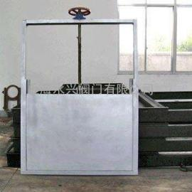 LZMD500×500手动螺旋闸门,手动闸板阀,手动插板阀