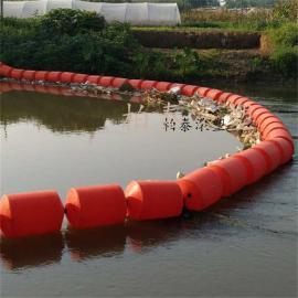 PE河道拦渣浮筒 环保型塑料浮筒雅安价格咨询