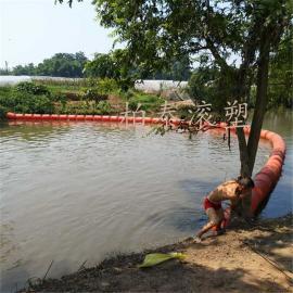 保定水务局专用浮体 河道拦渣塑料浮排规格介绍
