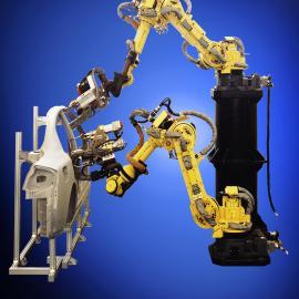 浙江工业自动化点焊机器人集成商 一汽大众涂胶机器人