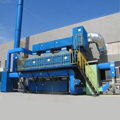 乾讯环保RCO催化燃烧废气处理装置
