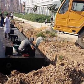 专业承接各种生活污水处理工程 酒店污水处理设备工艺先进