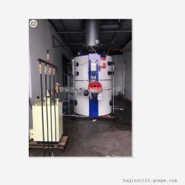 泰安华信立式燃气蒸汽锅炉 全自动点火 自动停火 自动补水
