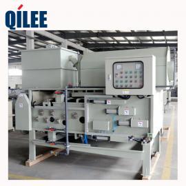QTB-750带式压滤机用于牛场废水污泥脱水处理
