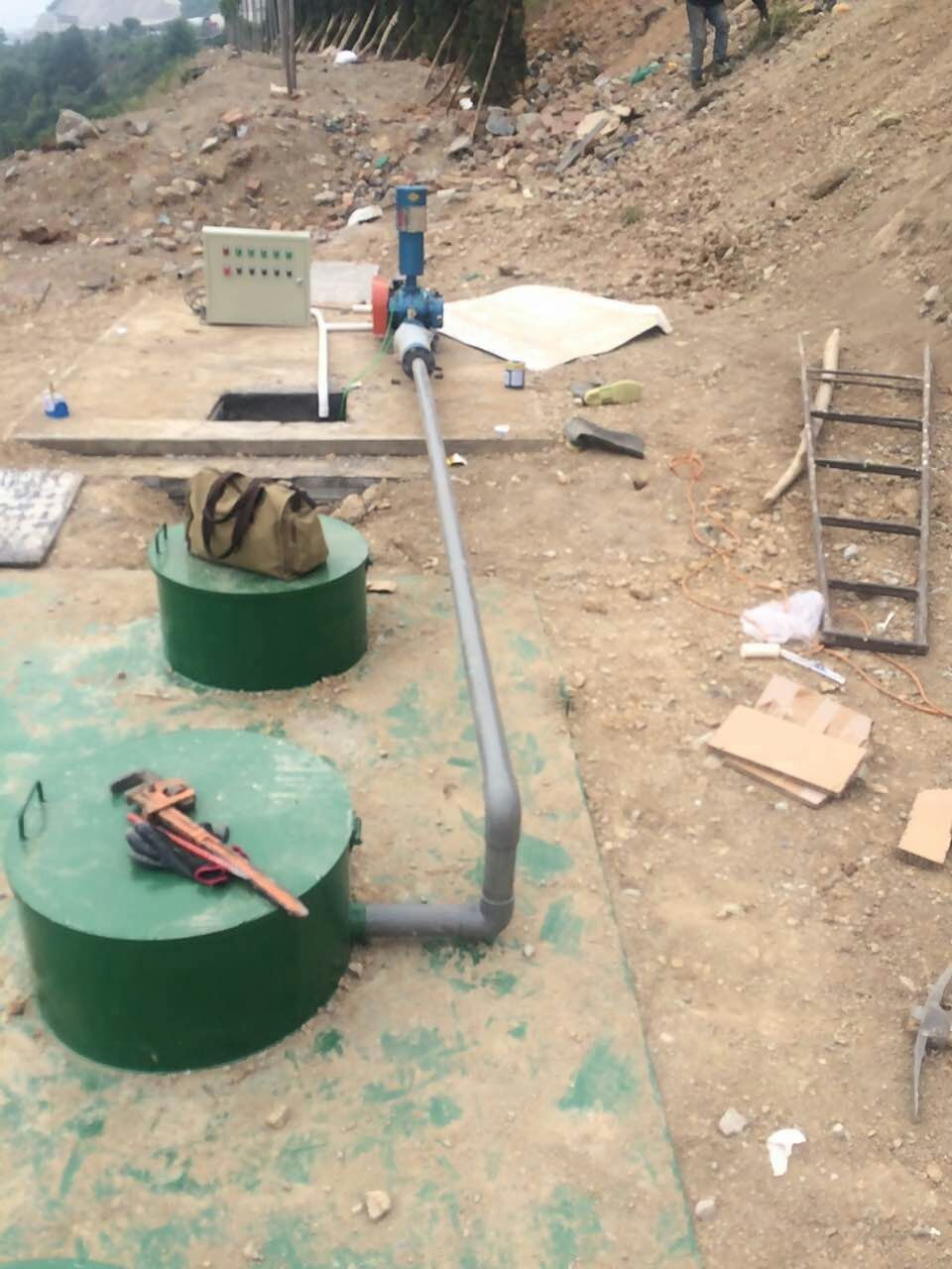 0.5吨/小时一体化生活污水处理设备