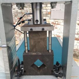 铁管马扎打孔 不锈钢鞋架冲孔 液压打孔机