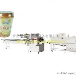 杯装奶茶全自动热收缩膜包装机_价格_生产厂家