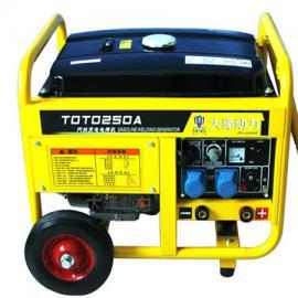 小型多功能230A汽油发电电焊机价格