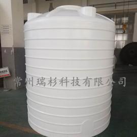 江苏 专业定制5000L塑料储罐 5吨PE储罐生产厂家