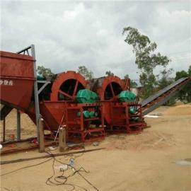 轮式洗沙机在安徽使用 水轮式的洗沙机设备多少钱一台