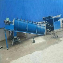 螺旋洗石机型号及参数 大型螺旋洗石机工作原理