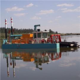 绞吸式挖泥船油机与吸砂泵是如何链接的