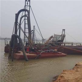 穿透泥层抽沙的抽沙船造价 南阳河道抽沙用简易型射流抽沙船