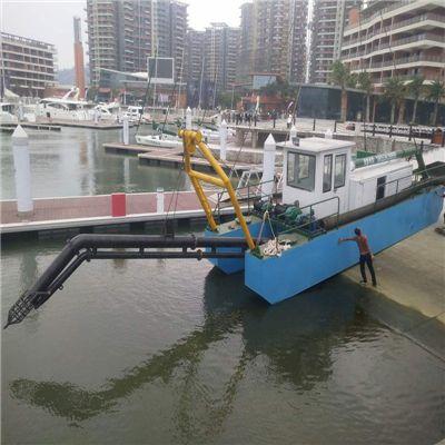 河道里抽沙的船有哪些种类 各种抽沙船型号及报价