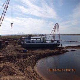 抽沙船 蚌埠8寸泵抽沙船使用二手发动机低价出售
