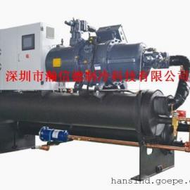 出口韩国50HP水冷式螺杆式冷水机供应商