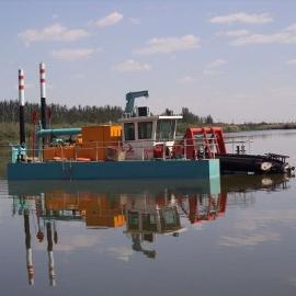 河南挖泥船厂家 河南洛阳全液压绞吸挖泥船操作步骤