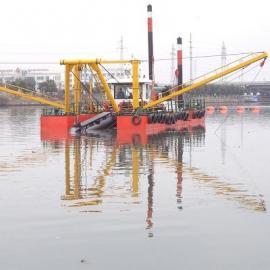 河道清淤工程 城市河道挖泥船工作原理简单