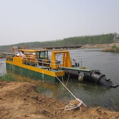 环保型绞吸式挖泥船河道清淤 城市内河清淤绞吸挖泥船厂家