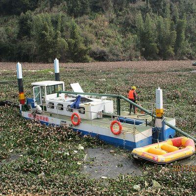小型水库清淤船疏浚清淤效果好不好