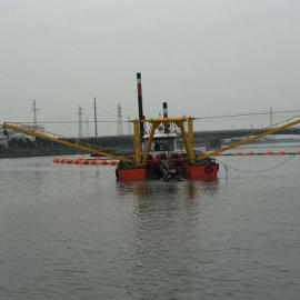 全液压机械式河道清淤船设计原理