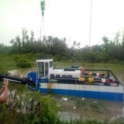 绞吸式挖泥船作为河道保洁船效果好