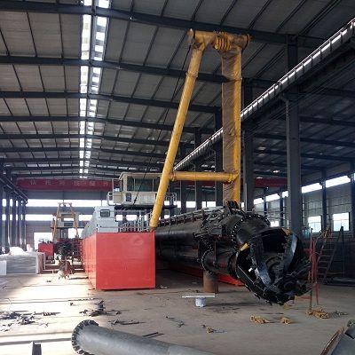 陕西西安环保新型绞吸式挖泥船发动机功率大不大