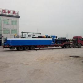 10寸机械式绞吸挖泥船现场安装图片展示