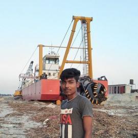 陕西榆林机械式绞吸挖泥船水下作业效果明显