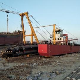 广西浅海抽沙船 广西浅海绞吸抽沙船施工现场
