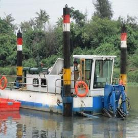 有生�a18寸大型�g吸式挖泥船的��