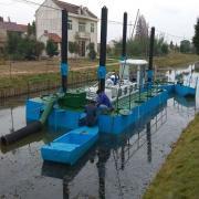 绞吸式挖泥船8寸泵挖深能达到10米吗