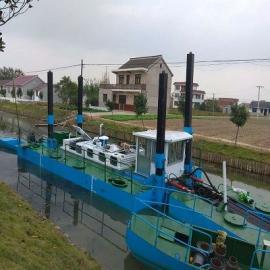 楚雄�g吸式挖泥船刷上油漆:一道底漆,二道色漆